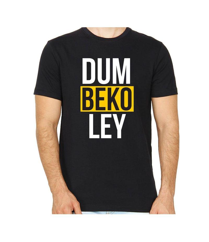 DUM BEKO LEY Black Color Round Neck T-Shirt