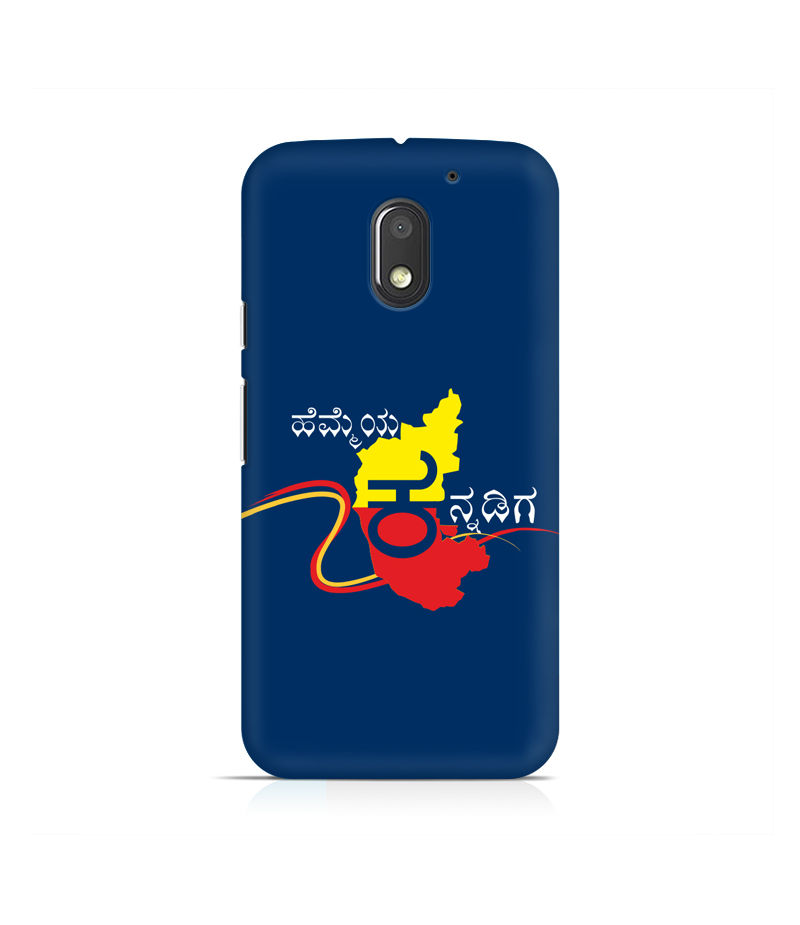 Hemmeya Kannadiga Premium Printed Case For Moto E3 Power
