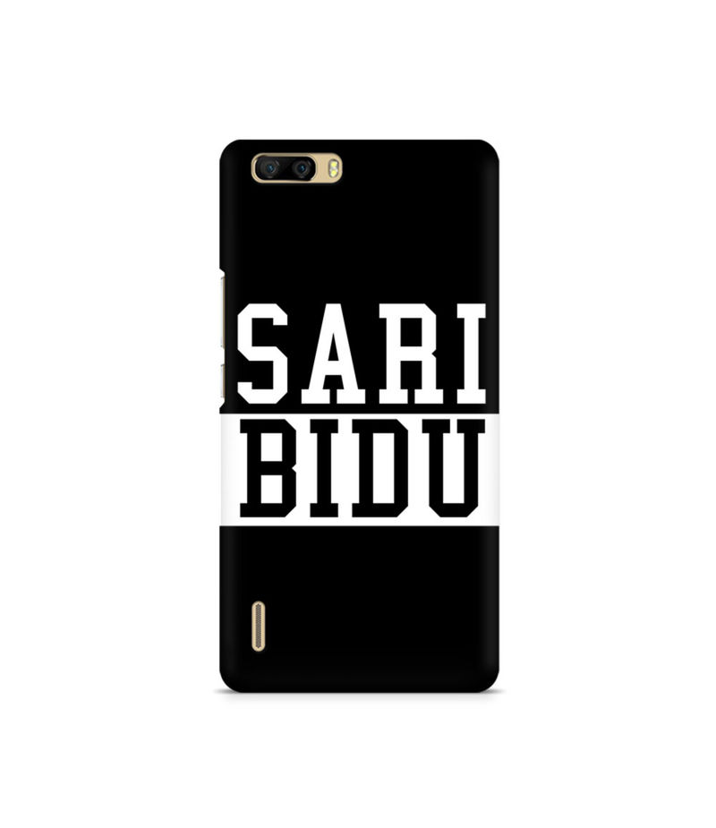 Sari Bidu Premium Printed Case For Huawei Honor 6 Plus