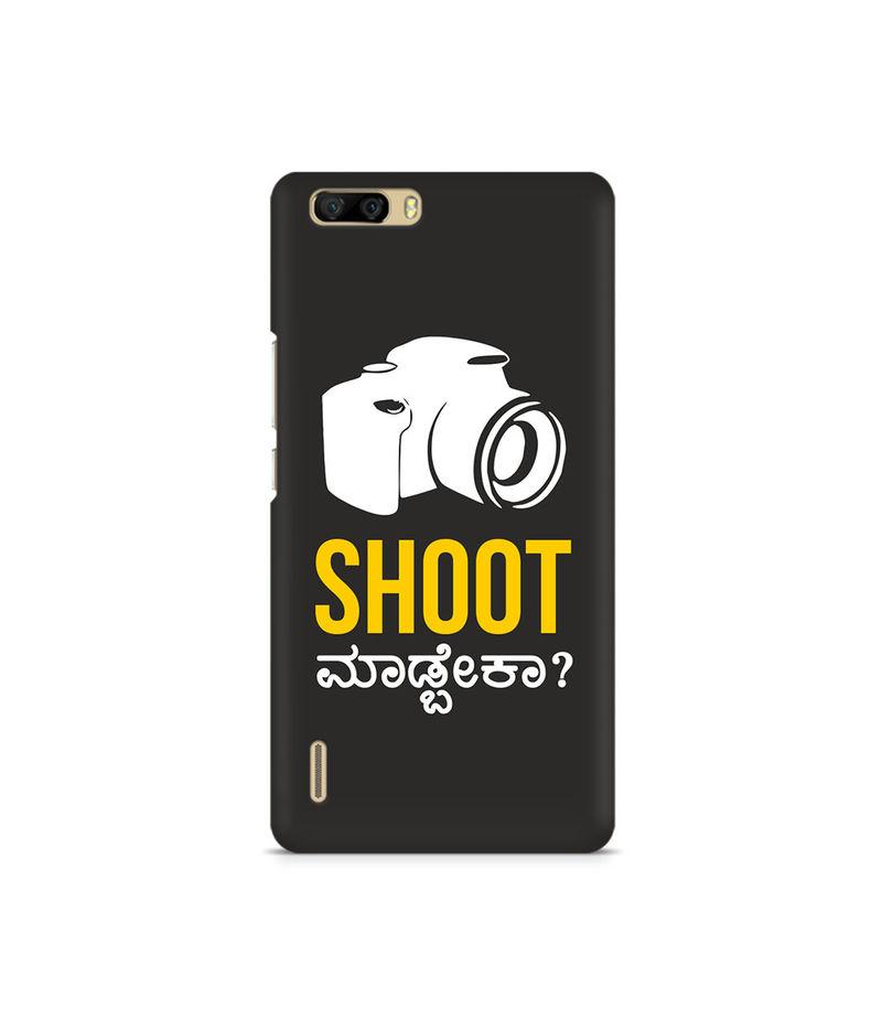 Shoot Madbeka Premium Printed Case For Huawei Honor 6 Plus