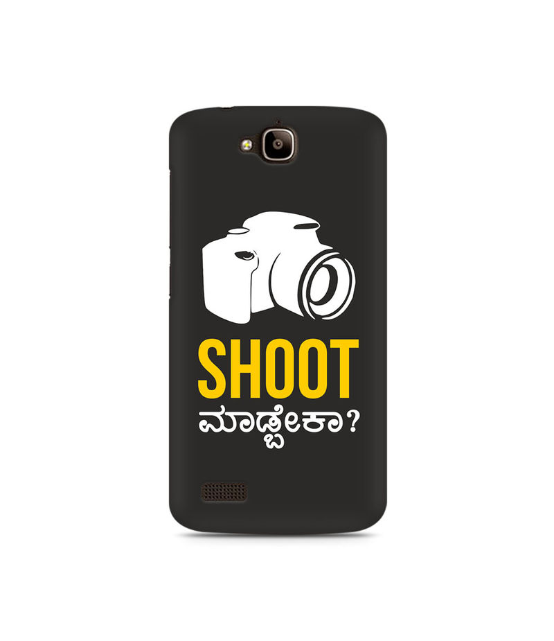 Shoot Madbeka Premium Printed Case For Huawei Honor Holly