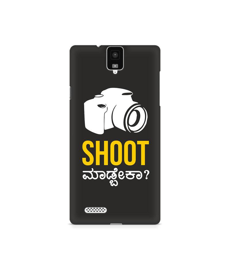 Shoot Madbeka Premium Printed Case For InFocus M330