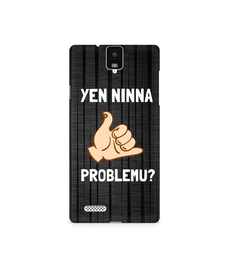 Yen Ninna Problemu? Premium Printed Case For InFocus M330