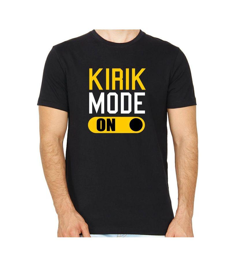 KIRIK MODE Black Color Round Neck T-Shirt