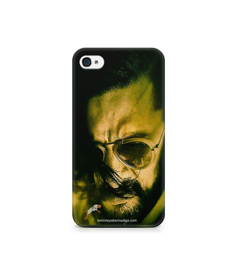 Kichha Sudeep Mobile Back Case Hebbuli 2 Apple iPhone 4