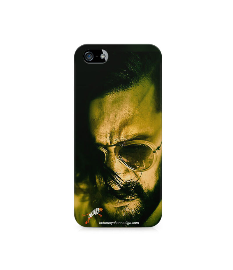 Kichha Sudeep Mobile Back Case Hebbuli 2 Apple iPhone 5