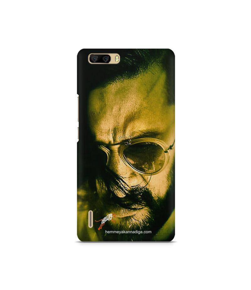 Kichha Sudeep Mobile Back Case Hebbuli 2 Huawei Honor 6 Plus