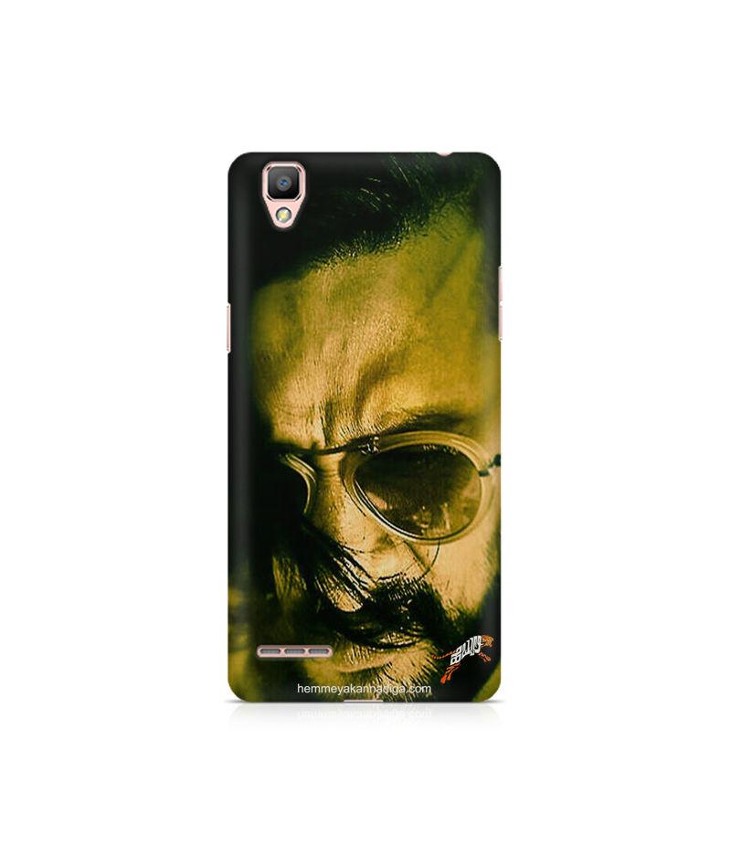Kichha Sudeep Mobile Back Case Hebbuli 2 Oppo F1 Plus