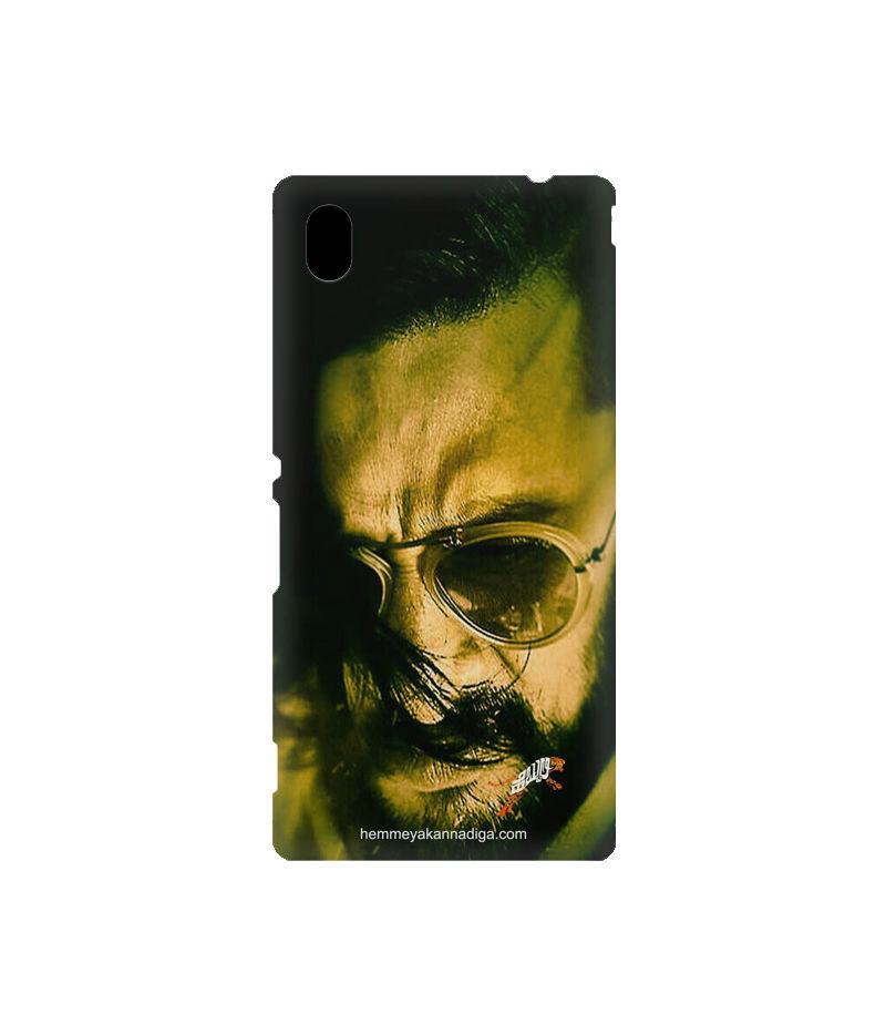 Kichha Sudeep Mobile Back Case Hebbuli 2 Sony Xperia M4