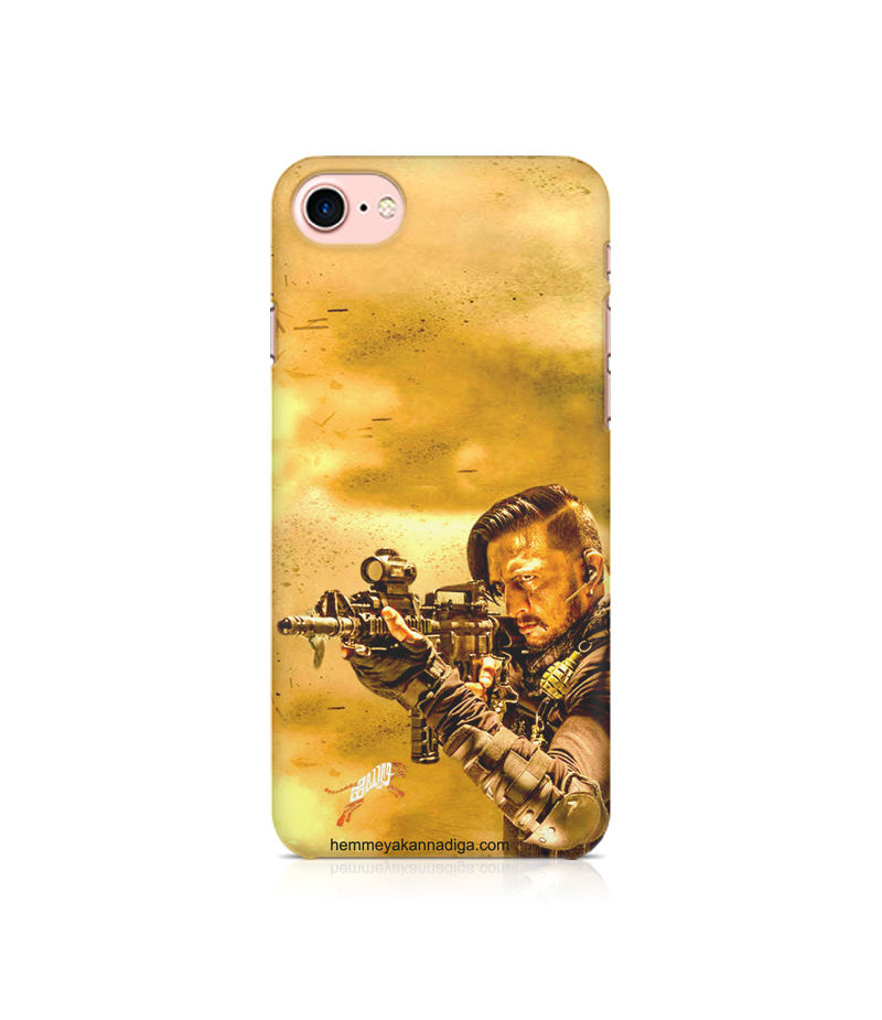 Kichha Sudeep Mobile Back Case Hebbuli 3 Apple iPhone 7
