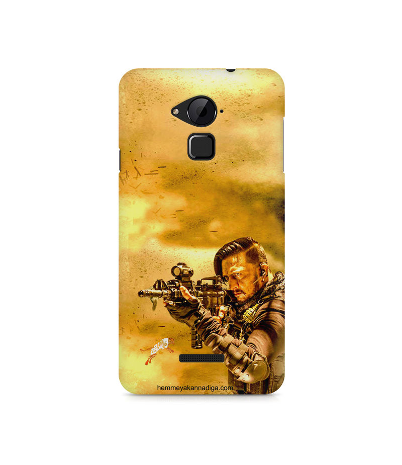 Kichha Sudeep Mobile Back Case Hebbuli 3 Coolpad Note 3