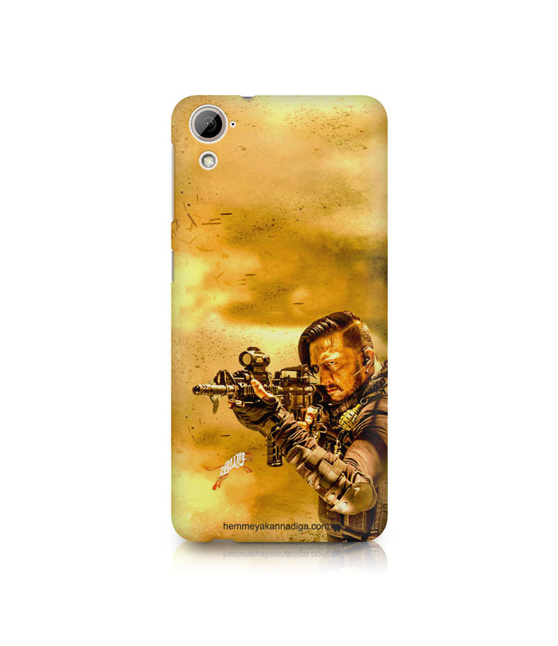 Kichha Sudeep Mobile Back Case Hebbuli 3 HTC Desire 820