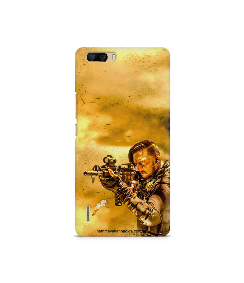 Kichha Sudeep Mobile Back Case Hebbuli 3 Huawei Honor 6 Plus