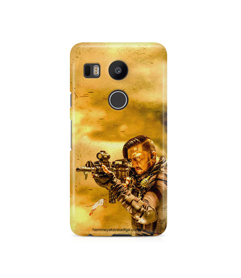 Kichha Sudeep Mobile Back Case Hebbuli 3 LG Nexus 5X
