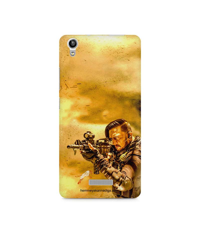 Kichha Sudeep Mobile Back Case Hebbuli 3 Lava Pixel V1