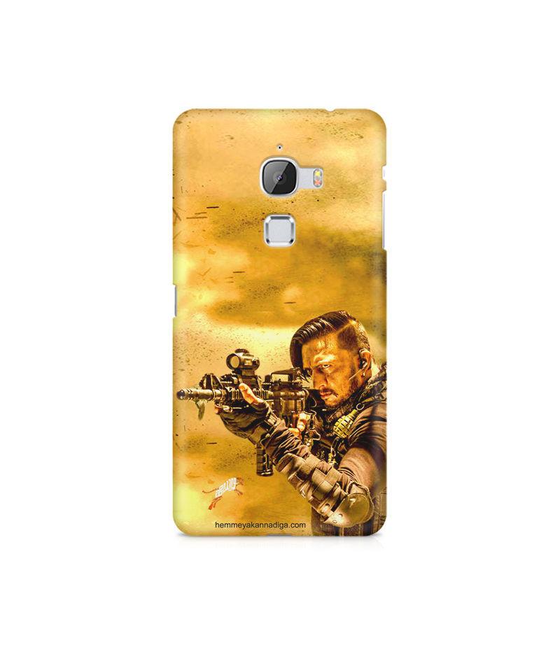 Kichha Sudeep Mobile Back Case Hebbuli 3 LeEco Le Max