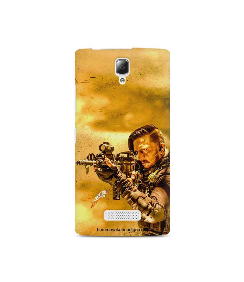 Kichha Sudeep Mobile Back Case Hebbuli 3 Lenovo A2010