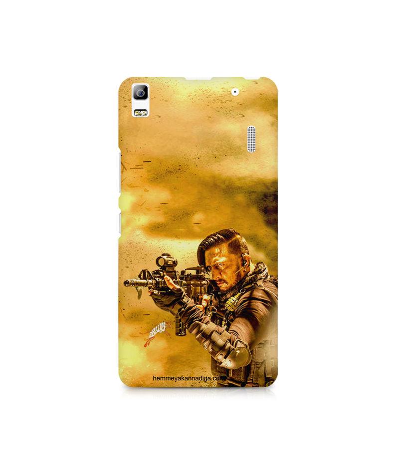 Kichha Sudeep Mobile Back Case Hebbuli 3 Lenovo A7000