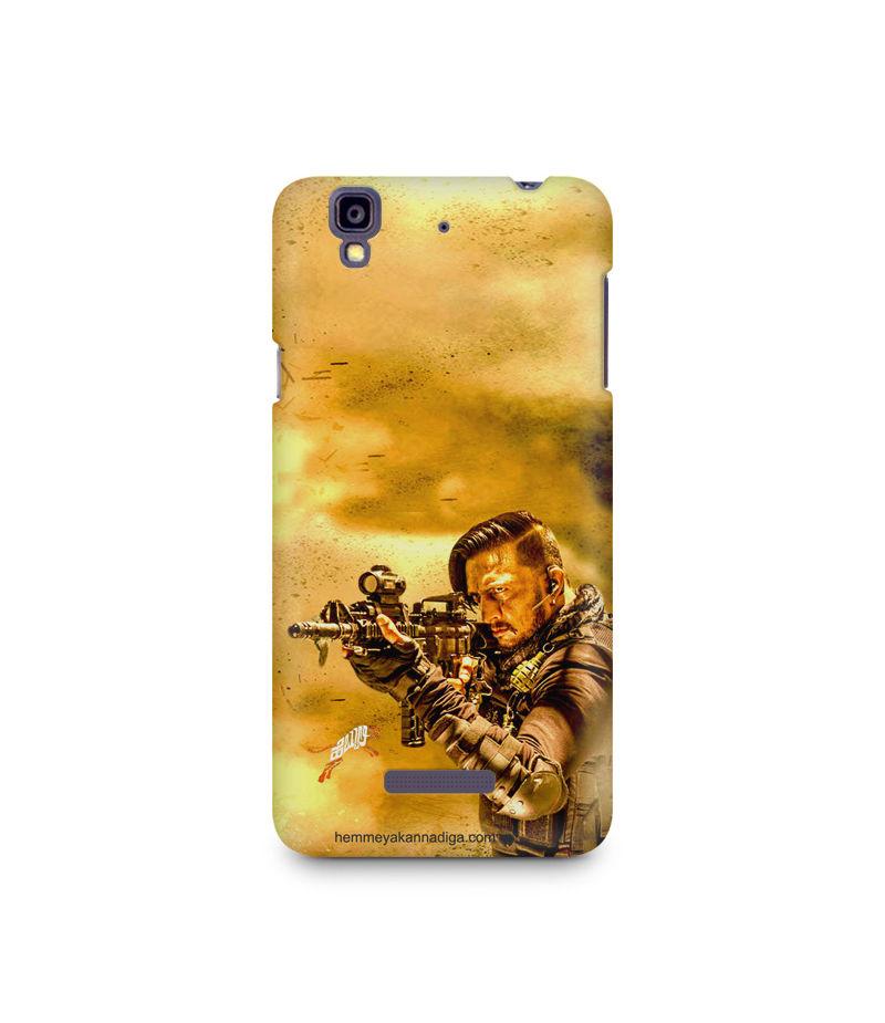 Kichha Sudeep Mobile Back Case Hebbuli 3 Micromax Yureka