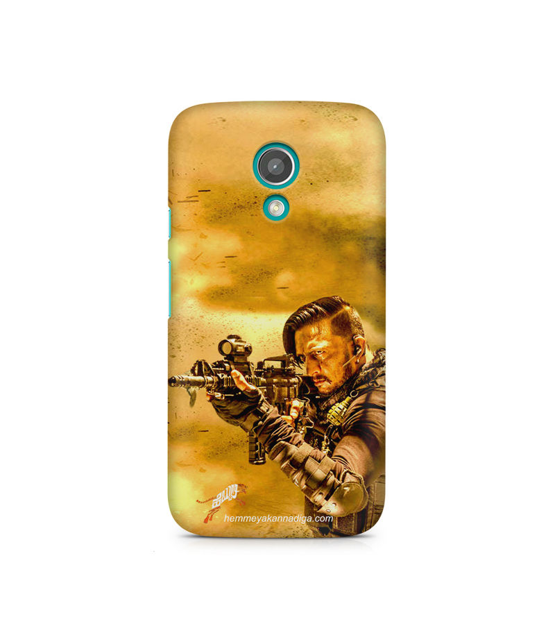 Kichha Sudeep Mobile Back Case Hebbuli 3 Moto G2