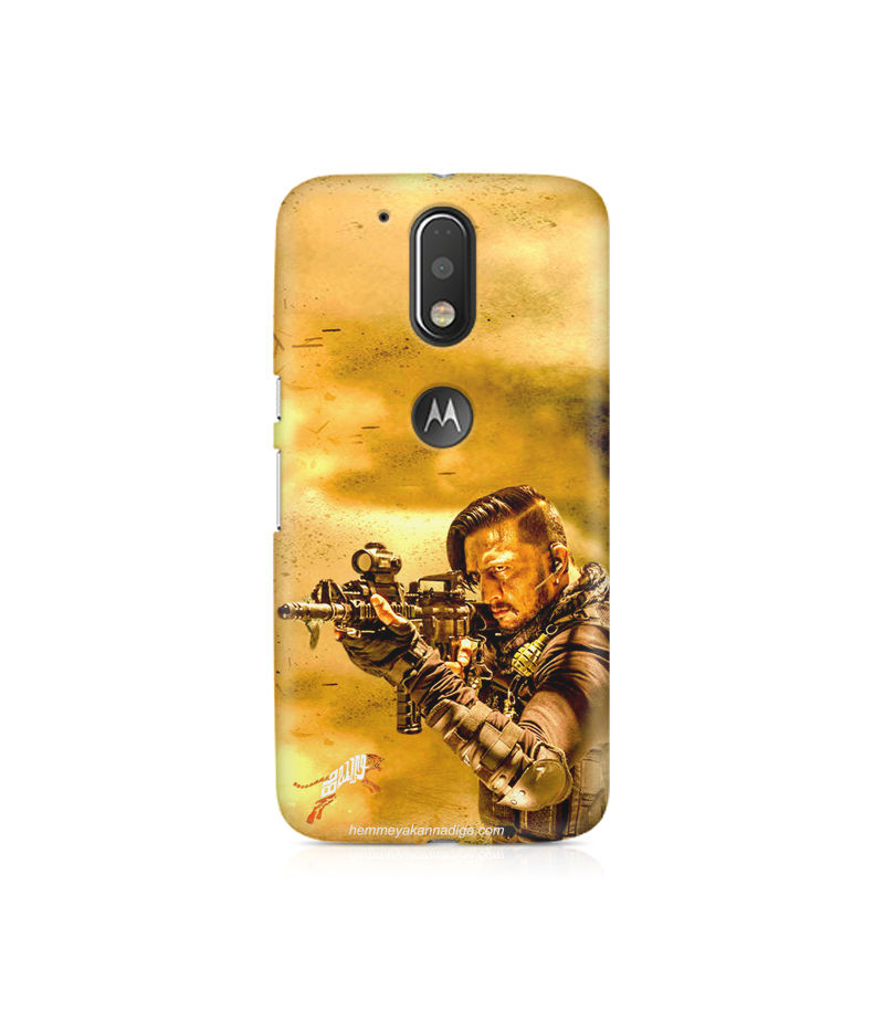 Kichha Sudeep Mobile Back Case Hebbuli 3 Moto G4 Plus