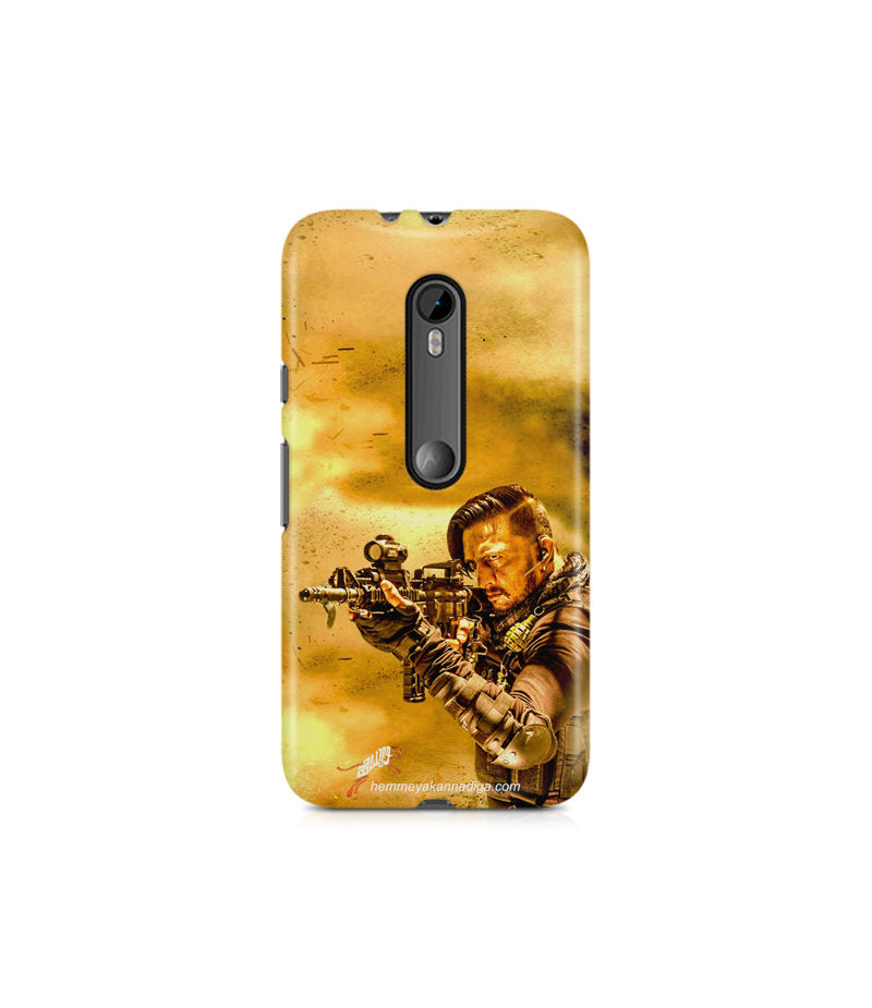 Kichha Sudeep Mobile Back Case Hebbuli 3 Moto X Force