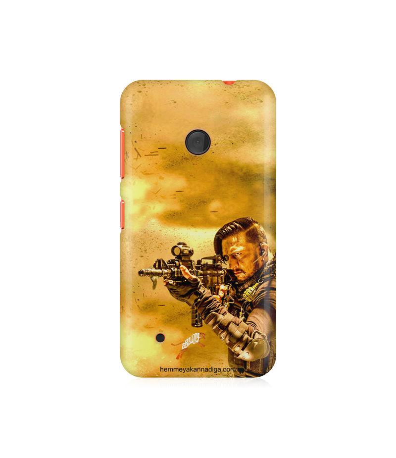 Kichha Sudeep Mobile Back Case Hebbuli 3 Nokia Lumia 530