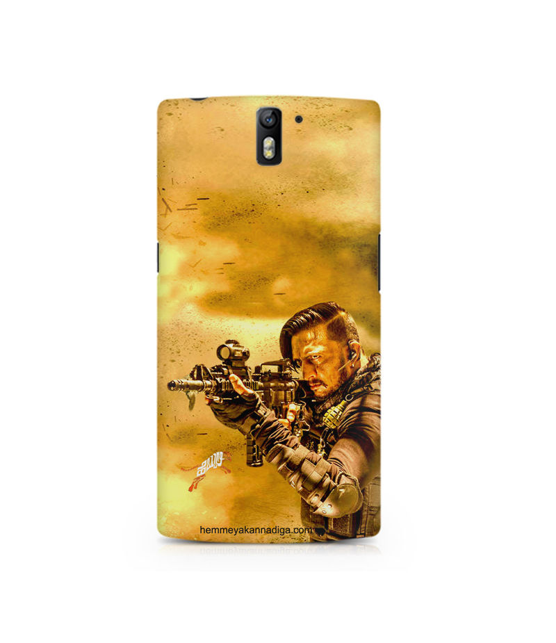 Kichha Sudeep Mobile Back Case Hebbuli 3 OnePlus One