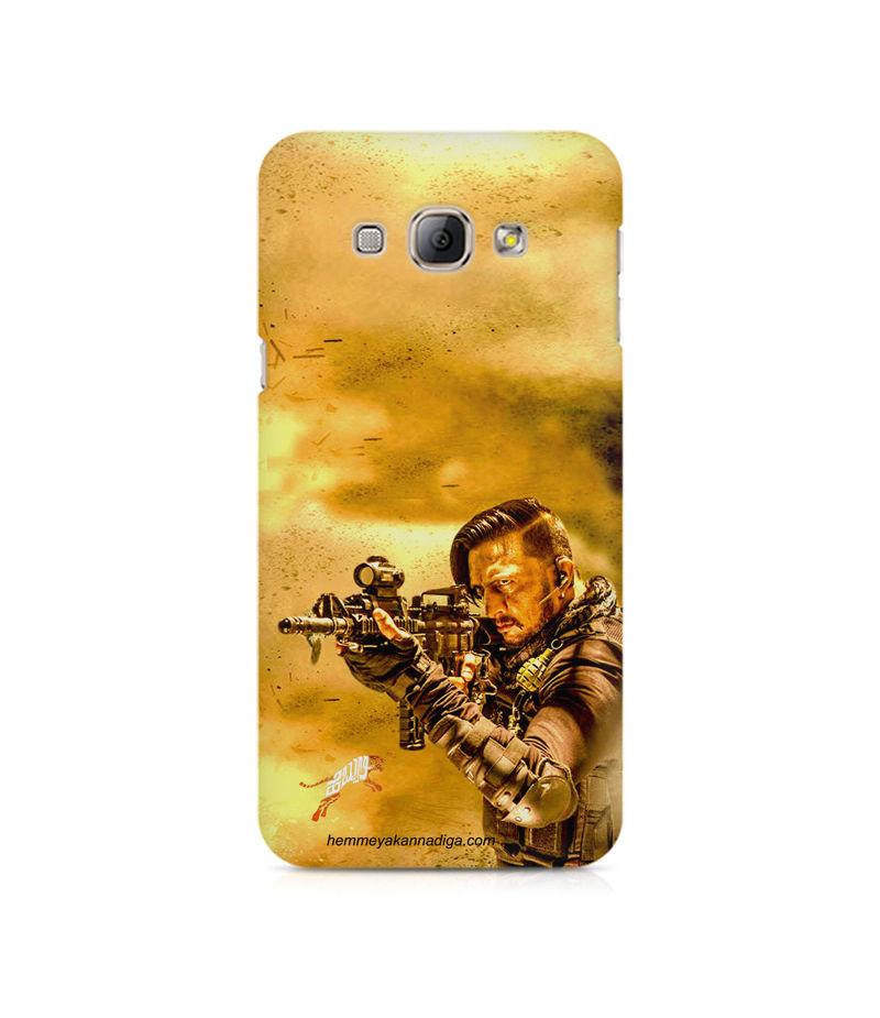 Kichha Sudeep Mobile Back Case Hebbuli 3 Samsung A8
