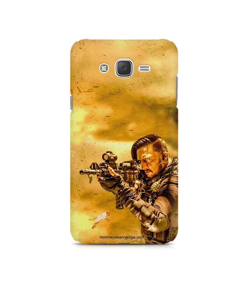 Kichha Sudeep Mobile Back Case Hebbuli 3 Samsung J2