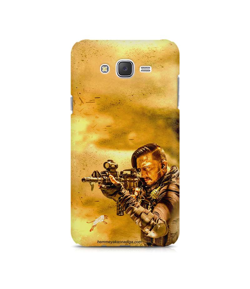 Kichha Sudeep Mobile Back Case Hebbuli 3 Samsung J7