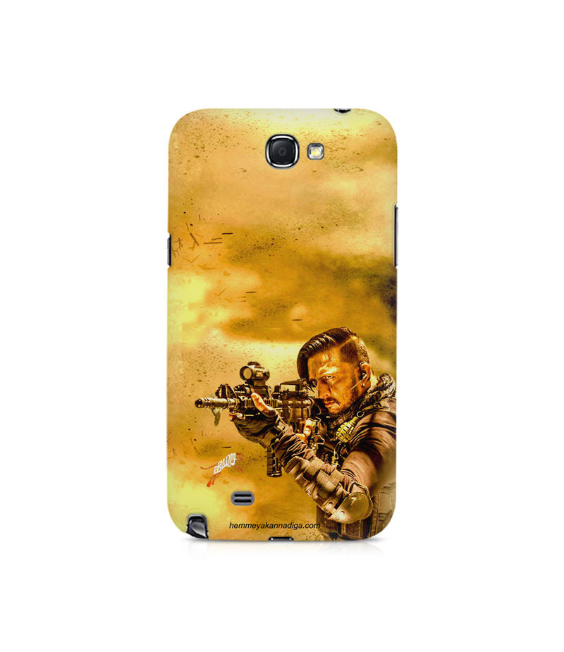 Kichha Sudeep Mobile Back Case Hebbuli 3 Samsung Note 2