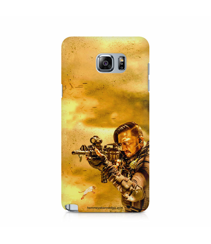 Kichha Sudeep Mobile Back Case Hebbuli 3 Samsung Note 5