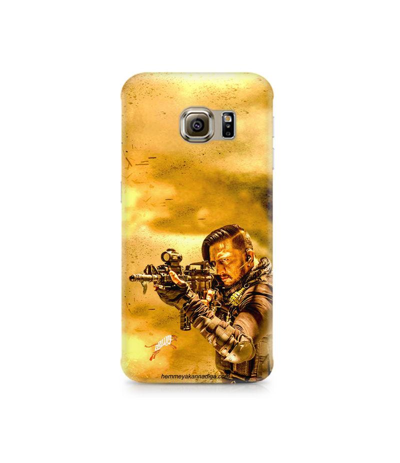 Kichha Sudeep Mobile Back Case Hebbuli 3 Samsung S6 Edge G9250