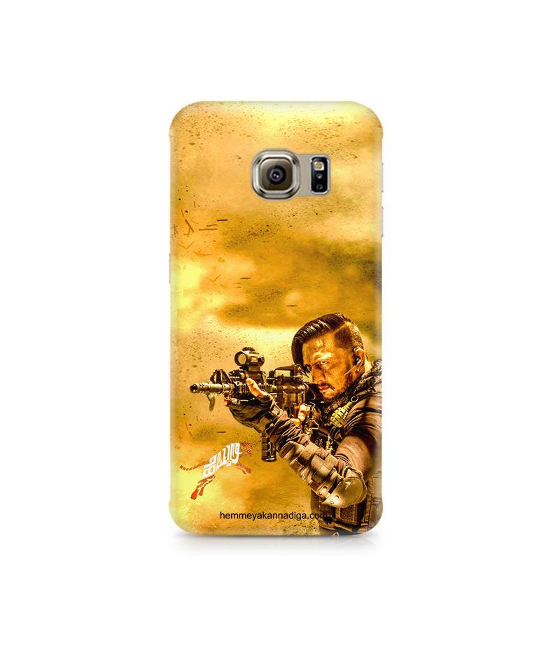 Kichha Sudeep Mobile Back Case Hebbuli 3 Samsung S6 Edge Plus