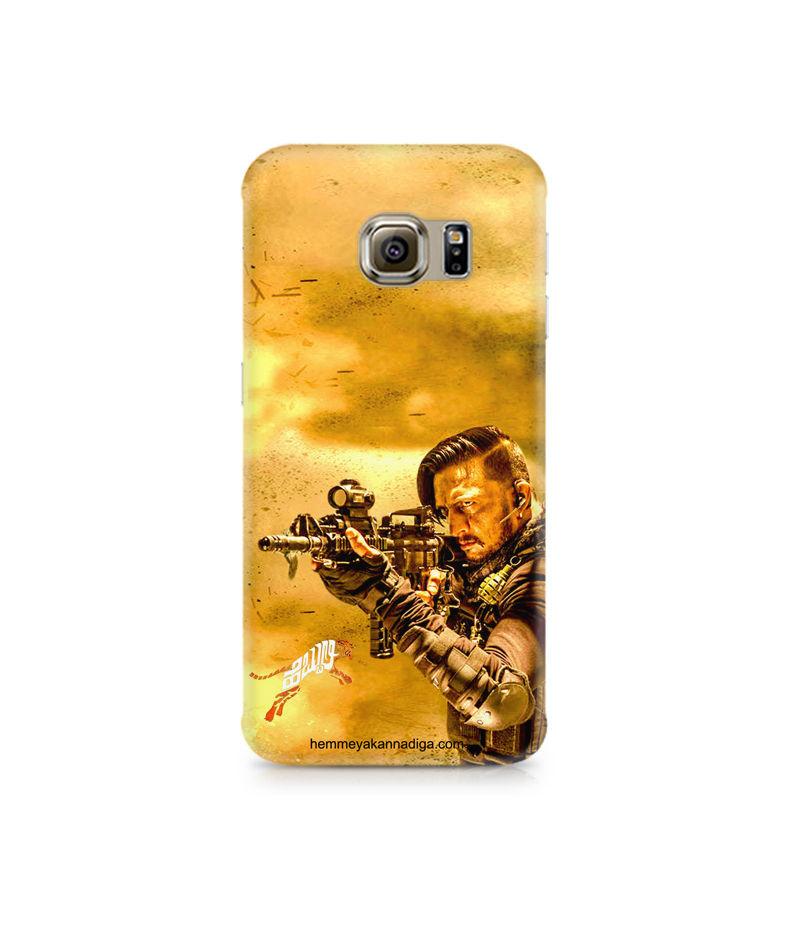 Kichha Sudeep Mobile Back Case Hebbuli 3 Samsung S7 Edge