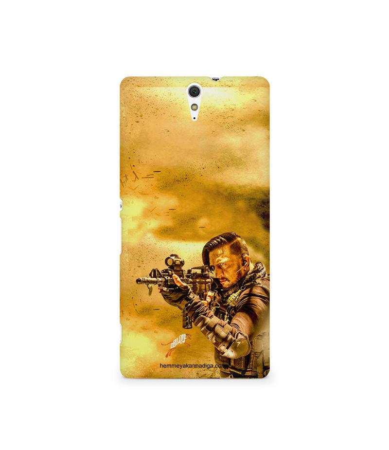 Kichha Sudeep Mobile Back Case Hebbuli 3 Sony Xperia C5