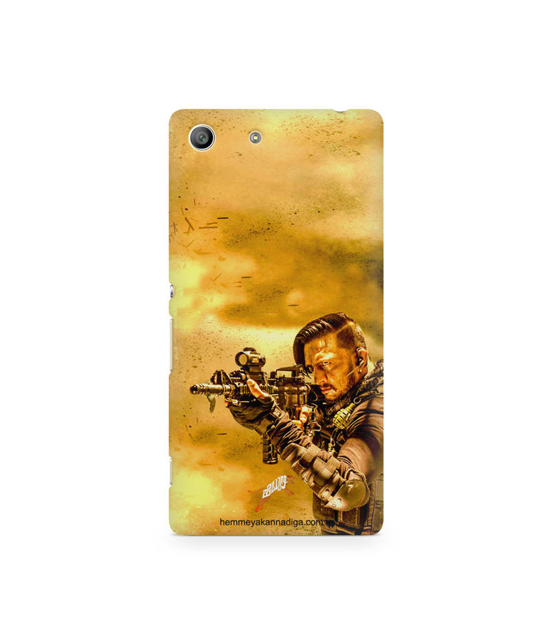 Kichha Sudeep Mobile Back Case Hebbuli 3 Sony Xperia M5