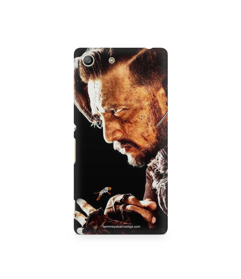 Kichha Sudeep Mobile Back Case Hebbuli 4 Sony Xperia M5