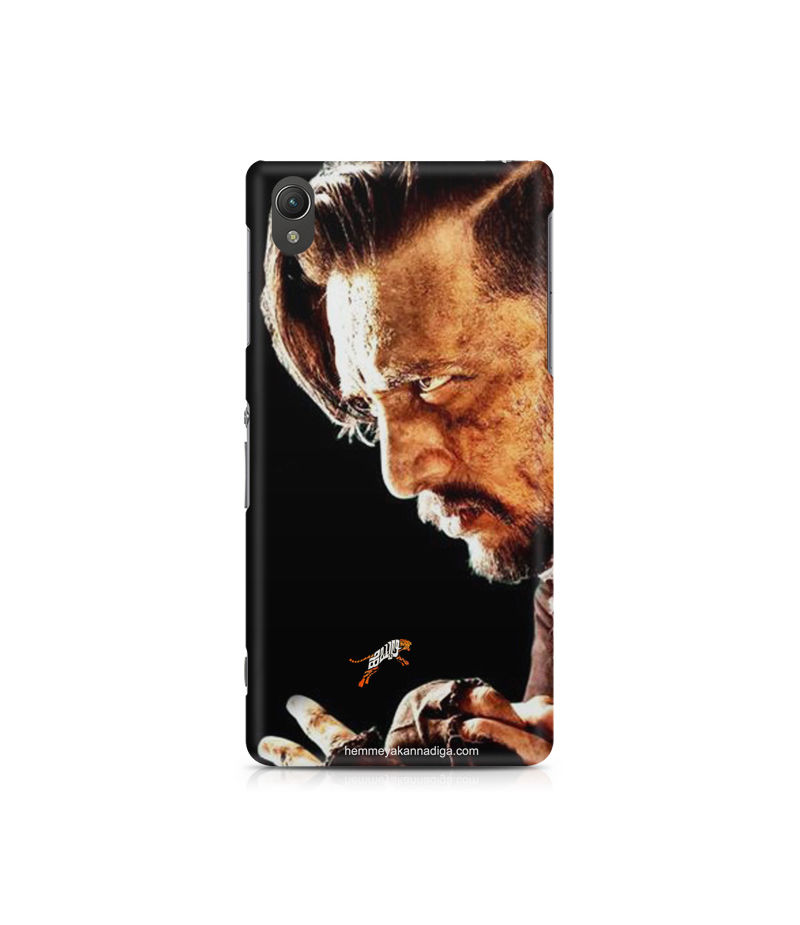 Kichha Sudeep Mobile Back Case Hebbuli 4 Sony Xperia Z5