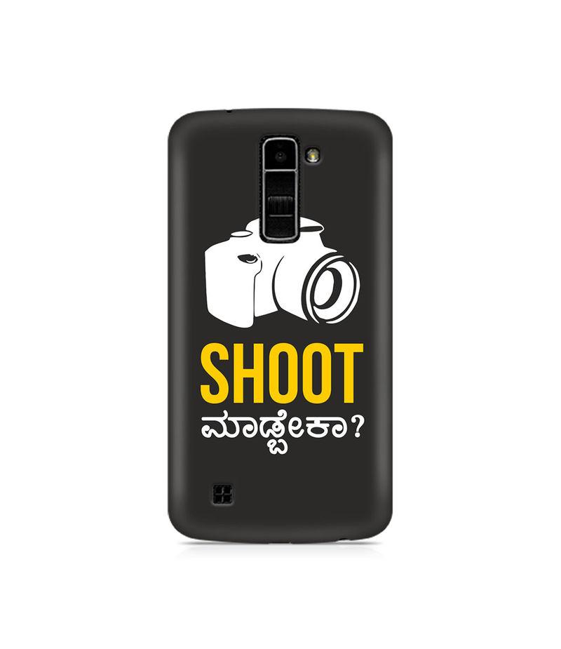 Shoot Madbeka Premium Printed Case For LG K10