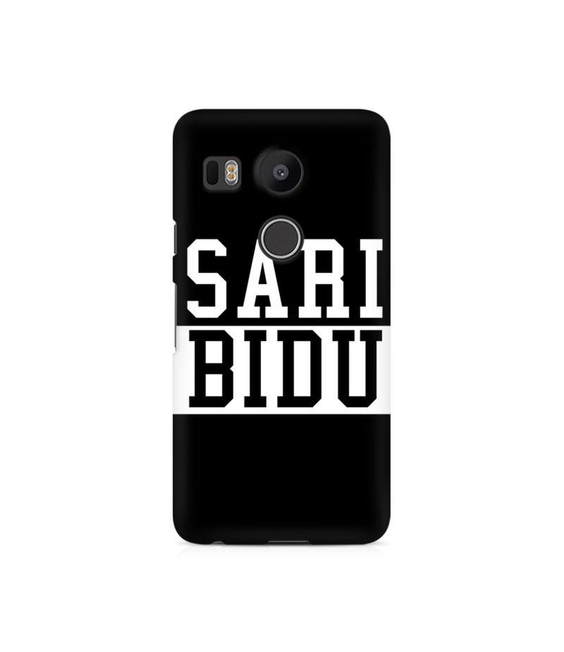 Sari Bidu Premium Printed Case For LG Nexus 5X