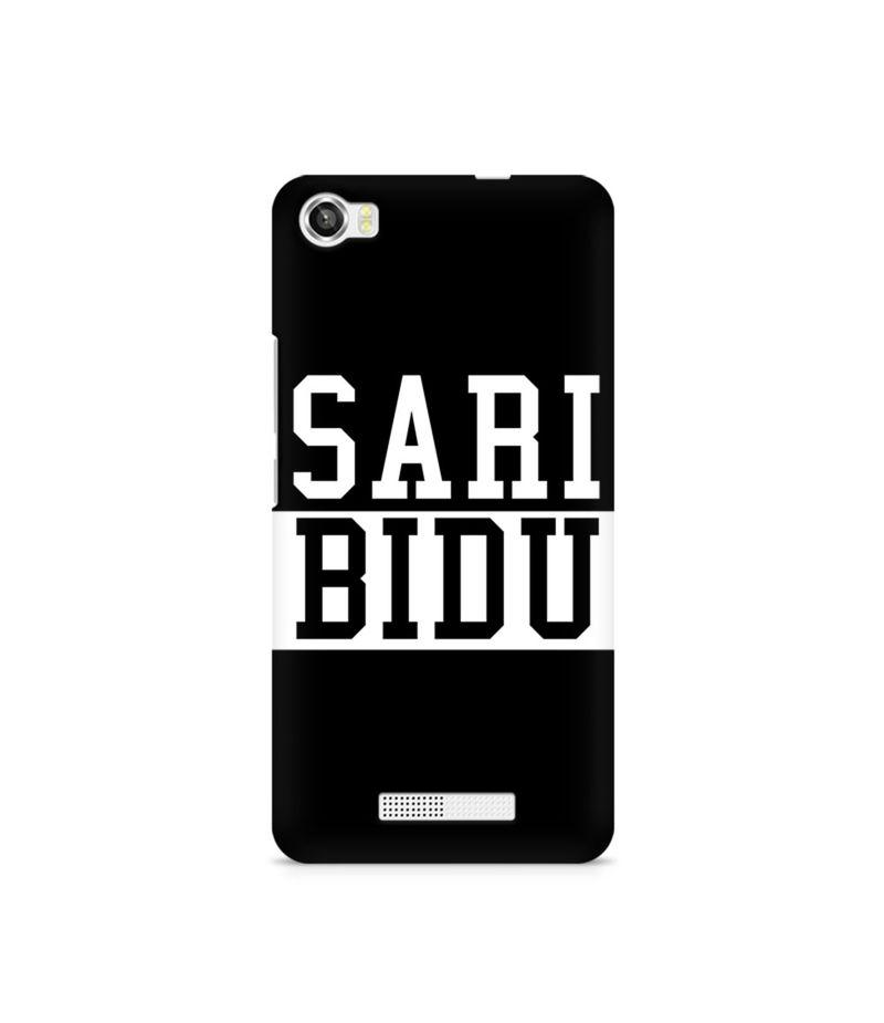 Sari Bidu Premium Printed Case For Lava Iris X8