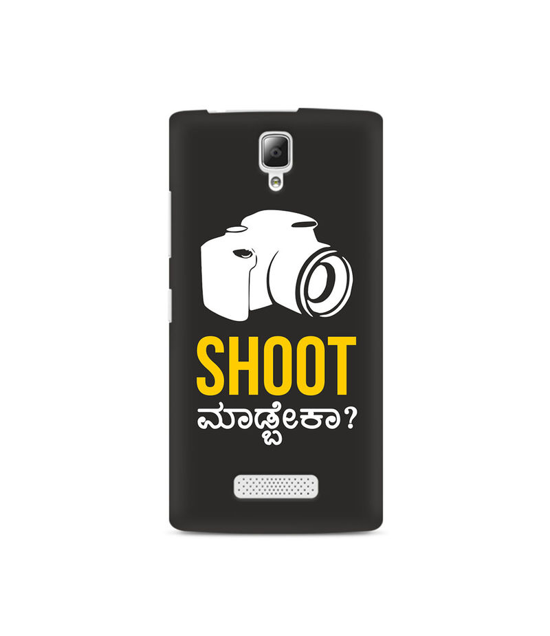 Shoot Madbeka Premium Printed Case For Lenovo A2010