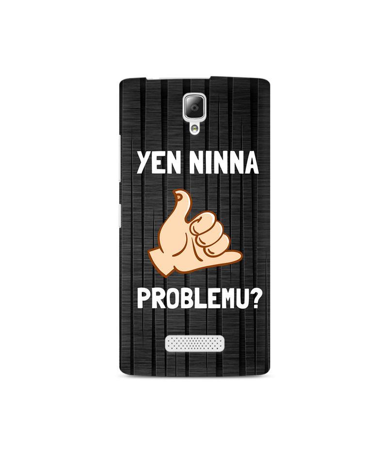 Yen Ninna Problemu? Premium Printed Case For Lenovo A2010