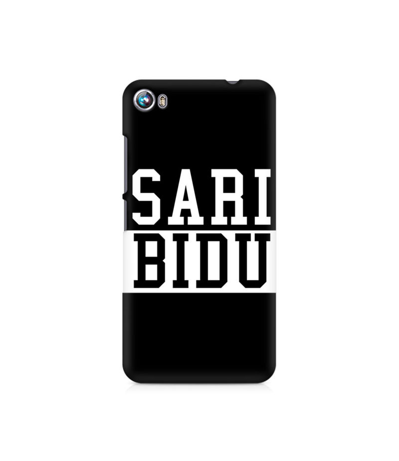 Sari Bidu Premium Printed Case For Micromax Canvas Fire 4