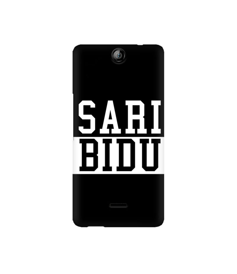Sari Bidu Premium Printed Case For Micromax Canvas Juice 3