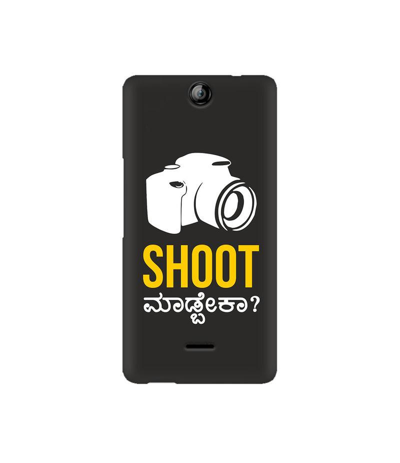 Shoot Madbeka Premium Printed Case For Micromax Canvas Juice 3