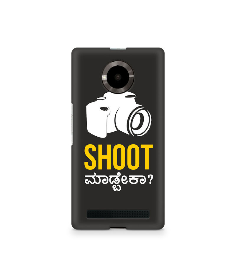 Shoot Madbeka Premium Printed Case For Micromax Yuphoria