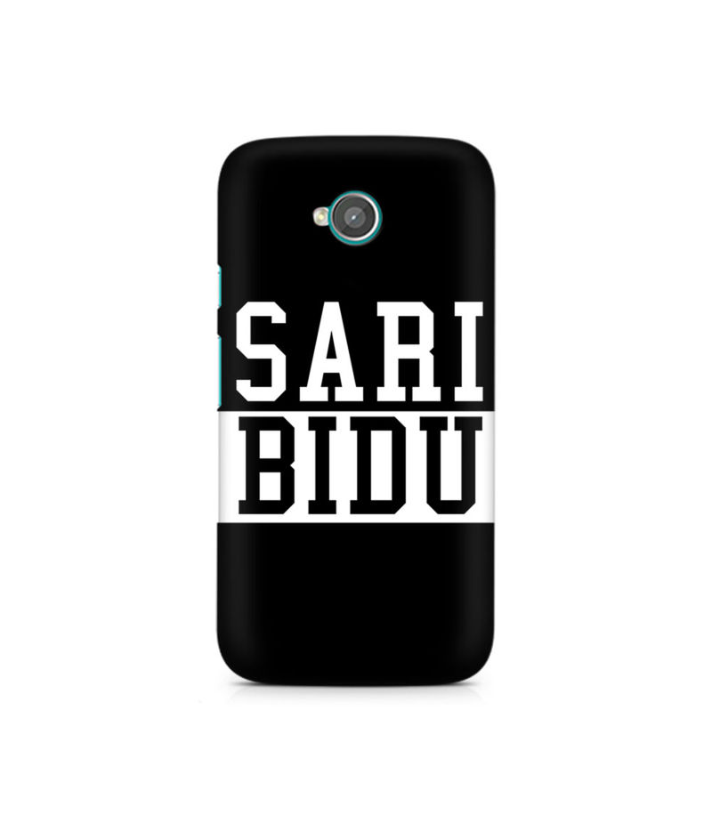 Sari Bidu Premium Printed Case For Moto E2